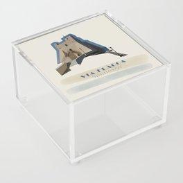 Sperlonga - Via Flacca Acrylic Box