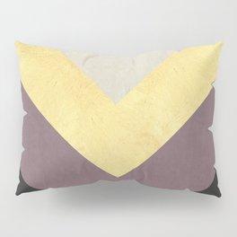 Golden line XVI Pillow Sham