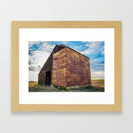 Grain Elevator 1 Framed Art Print