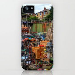 Menagerie of junk iPhone Case