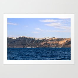 Santorini, Greece 17 Art Print