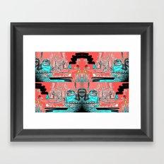 333 Framed Art Print