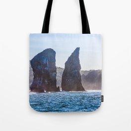 Kamchatka, Three brothers Tote Bag