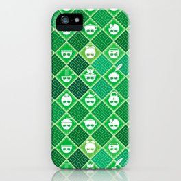 The Nik-Nak Bros. Veggie Greene iPhone Case