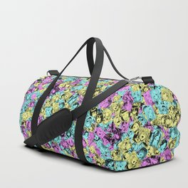 CMYK colors ahegao Duffle Bag