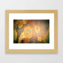 Battered Not Beaten Framed Art Print