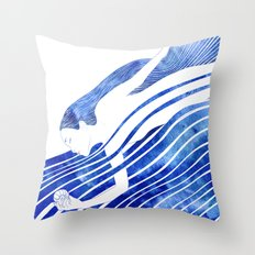 Water Nymph LXV Throw Pillow