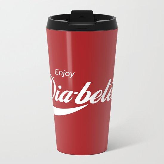 Enjoy Diabetes Metal Travel Mug