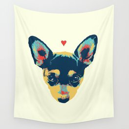 Pet Thoughts Wall Tapestry