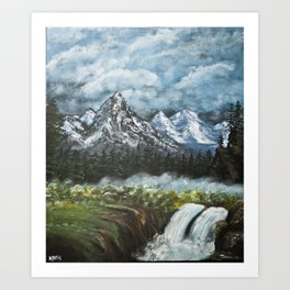 The Forest of Nemetius Art Print