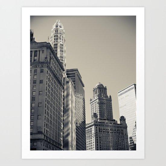 Chicago IV Art Print