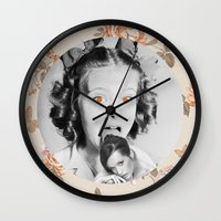 icecream Wall Clocks featuring : icecream : by Bauerhorst