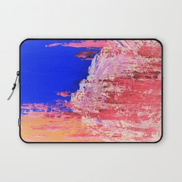 Into the Mist Pantone Color of the Year 2016 Abstract Laptop Sleeve