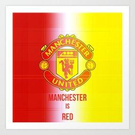 United Logo Art Print