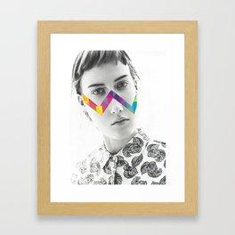 The Inside Counts Framed Art Print