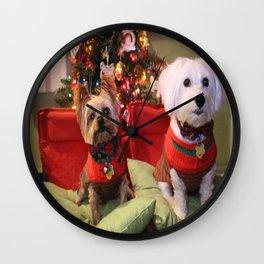 Dreo Christmas 2015 Wall Clock
