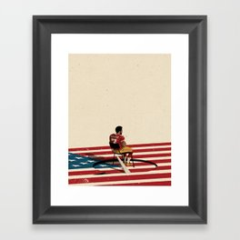 The Cost of Speaking Out Framed Art Print