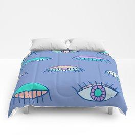 Bedroom Eyes Comforters