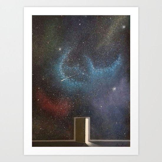 Door to the world Art Print