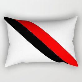 flag of angola 2 -angolan,luanda,angolano,angolana Rectangular Pillow