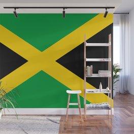 Flag of Jamaica - Jamaican flag Wall Mural