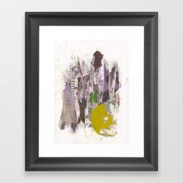 dirty tribune I Framed Art Print