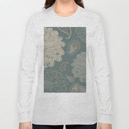 Cocoa Paisley VI Long Sleeve T-shirt