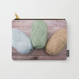 Trio of Yarn Carry-All Pouch