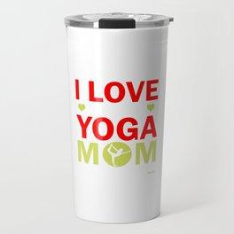 Yoga meditation ommm Mama Mother Sports Gift Travel Mug