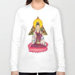 Godess Quan Yin Long Sleeve T-shirt