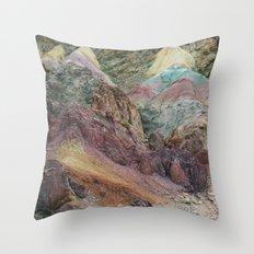 Calico Mountains Throw Pillow