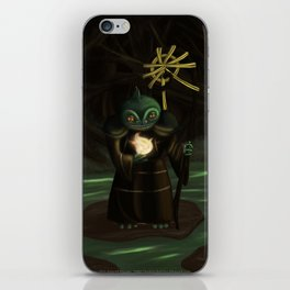 Priest of the Bog iPhone Skin