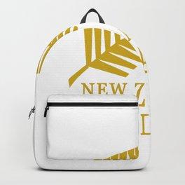 All Black NewZealand Backpack