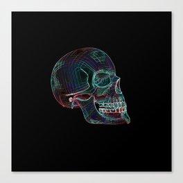 NEON SKULL/3 Canvas Print