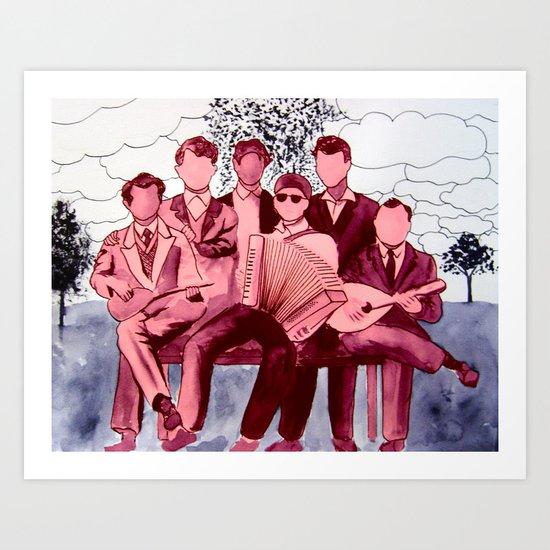 Orchestra-2 Art Print