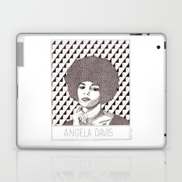 Angela Davis Portrait Laptop & iPad Skin