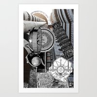 andreas preis Art Prints featuring San Andreas by Ira Carter
