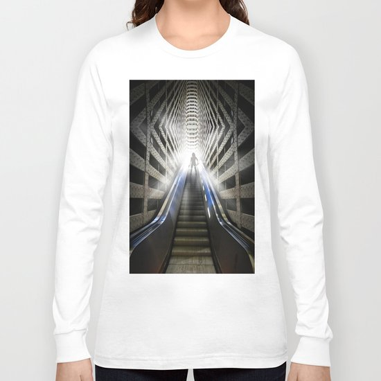 Move into the light Long Sleeve T-shirt