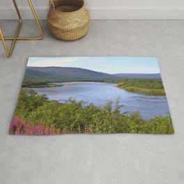 River Landscape Summer Scenery #decor #society6 #buyart Rug