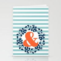 ampersand Stationery Cards featuring ampersand by ArigigiPixel