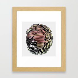 KMP Lady Framed Art Print
