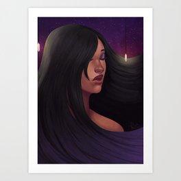 Drop light Art Print