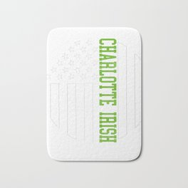 Charlotte Irish products by Howdy Swag print Bath Mat