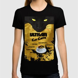 Ulthar Cat Caffe T-shirt
