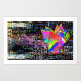 Mind's Eye 4 Art Print