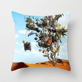 Surreal artwork Throw Pillow