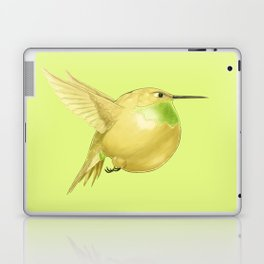 Hh - Honeybird // Half Hummingbird, Half Honeydew Melon Laptop & iPad Skin