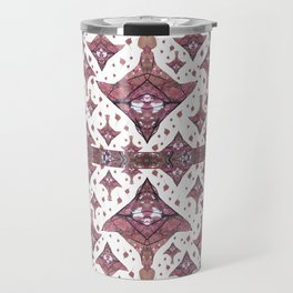 Planes made from Tree Leaves Photo 801 Fractal Travel Mug