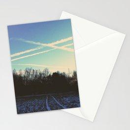 Frozen Field Stationery Cards
