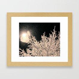 Specks Framed Art Print
